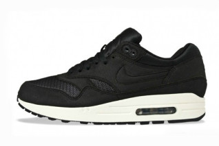 nike air max 1 black/sail spring 2012