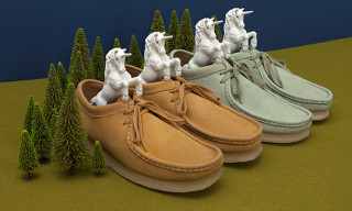 "Oi Polloi x Clarks Wallabees ""Unicorn Leather"""