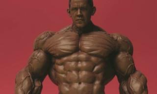 "Ron English ""America's Back!"" – Obama x Incredible Hulk"
