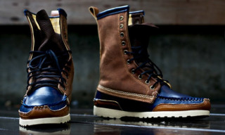Ronnie Fieg x Quoddy Classic Moccasin 10″ Calf Height Boots