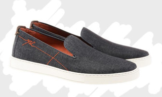 Yves Saint Laurent Denim Slip-On
