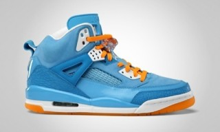 Jordan Spizike University Blue/Vivid Orange