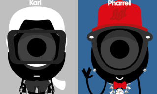 Darcel Goes Fashion as Karl Lagerfeld, Pharrell Williams & Others