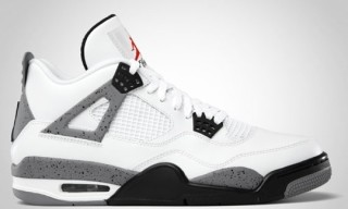 Air Jordan IV White Cement Official Images