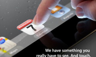 Apple Confirms March 7th iPad 3 Announcement Event