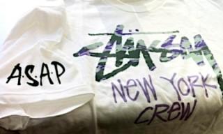 ASAP Mob x Stussy Tee Shirt