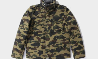 Bape Camouflage Gore-Tex M65 Jackets