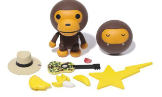 A Bathing Ape x Revoltech Yamaguchi Baby Milo Toy Set
