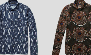 Burberry Prorsum Tribal Print Shirts Spring/Summer 2012