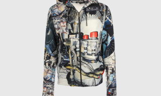 Christopher Kane Mechanics Print Hoodies