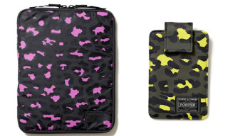 Head Porter Leopard iPhone and iPad Cases