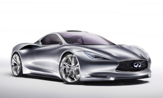 Infiniti Emerge-E Electric Supercar Concept