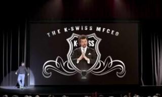 Video: K-Swiss Blades by Kenny Powers