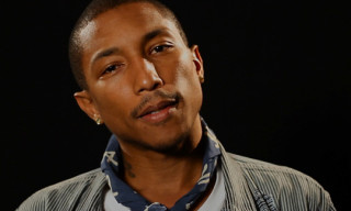 GQ: Pharrell Talks about his Mark McNairy Collaboration, His New Book, The Oscars