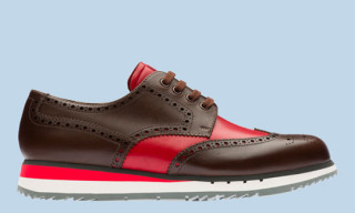 Prada Wingtip Derby Sneakers