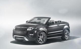 Range Rover Evoque Convertible Concept Car