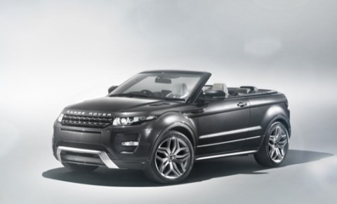 Land Rover Will Be Unveiling Its Range Evoque Convertible Concept Car At The Upcoming Geneva Motor Show Coming Up In March