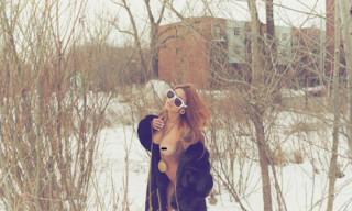 Vintage Frames Company x Ultra Goliath 2 Snow White Sunglasses