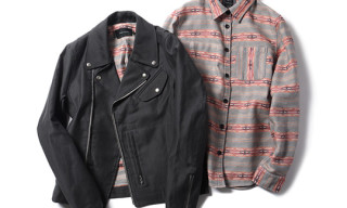 Wings + Horns Navajo Shirt & Riders Jacket