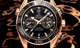 Video: Omega Seamaster Planet Ocean Ceragold