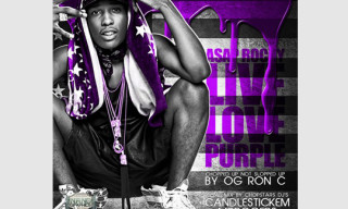 Music: ASAP Rocky x OG Ron C – LiveLovePurple Mixtape
