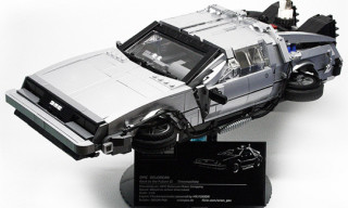 Back To The Future II DeLorean in Lego by Orion Pax