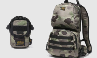 Bape 1st Camo Cordura Luggage Collection
