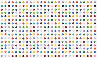 Damien Hirst Spot Paintings in M&M's by Henry Hargreaves