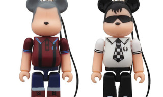Fred Perry BE@RBRICK 70%
