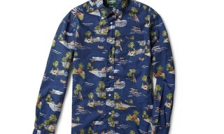 Gitman Vintage Hawaiian Print Shirt