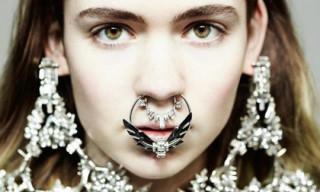 Dazed & Confused: Grimes by Hedi Slimane