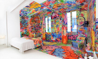 The Half Graffiti Hotel Room by Tilt