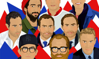 Highsnobiety Illustrated: GQ Best New Menswear Designers in America for 2012