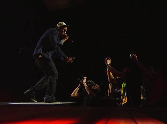 Street Style Jay Z In Leroy Jenkins And Nike Air Yeezy 2 At Sxsw 2012 Highsnobiety