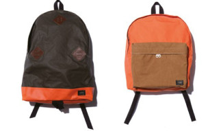 eYe Junya Watanabe x Head Porter Orange Field Bags