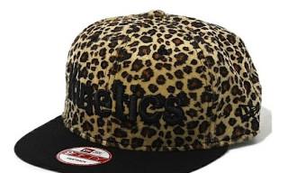 Kinetics × New Era Leopard Snapback Cap