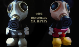 "Made by Monsters x Ron English ""Mousemask Murphy"" Vinyl Figure"