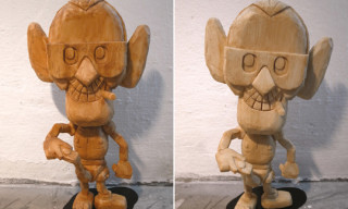 Michael Lau 9″ Wood Edition ZEX Vinyl Figures