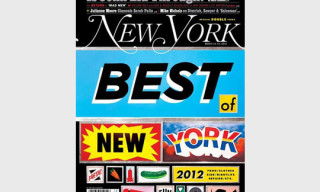 New York Magazine 'Best of New York 2012' Issue – Cover by Steve Powers
