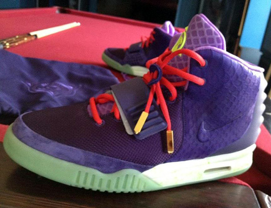 separation shoes 9be8a 12813 Nike Air Yeezy 2 - New Purple Colorway   Highsnobiety