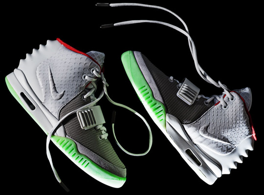 Nike Air Yeezy 2 Wolf Grey Pure Platinum A Detailed Look