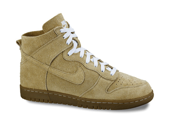 suede nike dunks