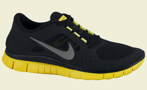 Nike contributes once again to the LIVESTRONG cause this time around with  the Nike Free Run+ 3. The running sneakers take on the familiar yellow and  black ...