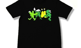 Original Fake KAWS New Text 2 Web Exclusive Tee