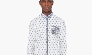 Pierre Balmain Paisley Print Shirt