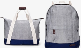 Rag & Bone Indigo Duffle and Backpack