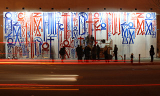 RETNA Mural at Houston & Bowery Wall in New York City