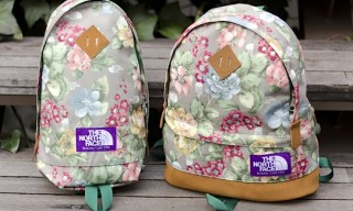 The North Face Purple Label Flower Print Bag Series