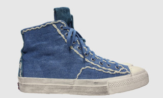 visvim Skagway Sashiko High Top Sneakers