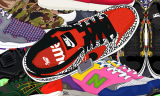 Highsnobiety Illustrated: 10 of Our Favorite March 2012 Sneakers